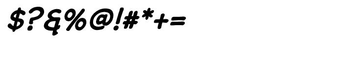 Wastrel Bold Oblique Font OTHER CHARS