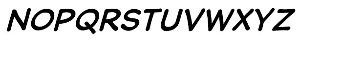 Wastrel Bold Oblique Font UPPERCASE