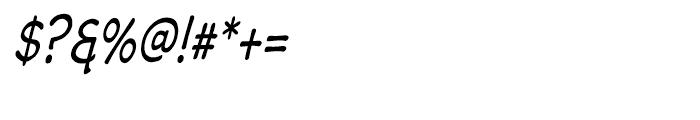 Wastrel Condensed Oblique Font OTHER CHARS