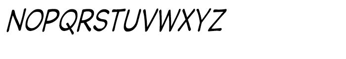 Wastrel Condensed Oblique Font UPPERCASE