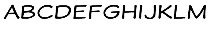 Wastrel Expanded Font UPPERCASE