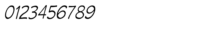 Wastrel Light Condensed Oblique Font OTHER CHARS