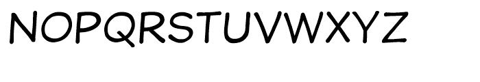 Wastrel Regular Font UPPERCASE
