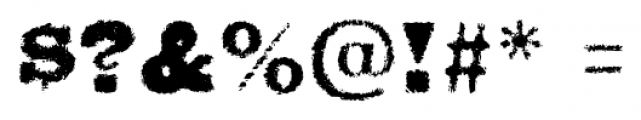 Walken Crisp Font OTHER CHARS