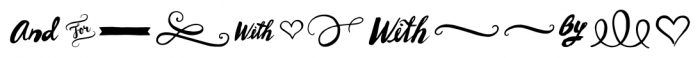 Wanderlust Letters Extras Font LOWERCASE