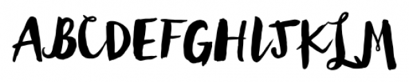 Wanderlust Letters Regular Font UPPERCASE