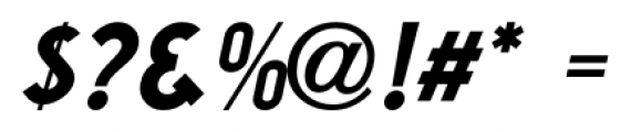 Washington Heights JNL Oblique Font OTHER CHARS