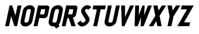 Washington Heights JNL Oblique Font UPPERCASE