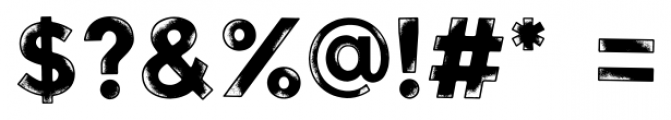 Watchers Regular Font OTHER CHARS