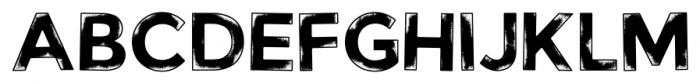 Watchers Regular Font LOWERCASE
