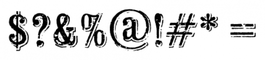 Wausau Regular Font OTHER CHARS