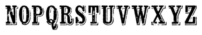 Wausau Regular Font UPPERCASE