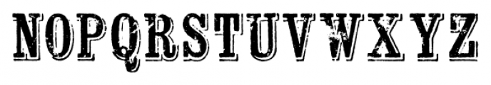 Wausau Regular Font LOWERCASE