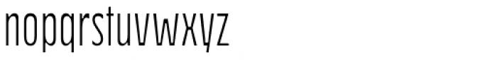 Waba D Light Font LOWERCASE