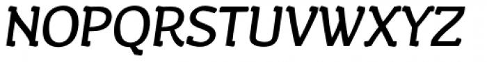 Wacca Bold Italic Font UPPERCASE