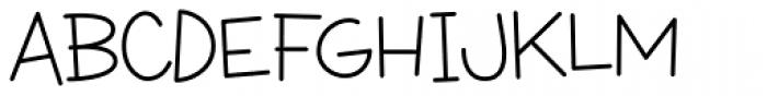 Wacky Action BTN Light Font UPPERCASE
