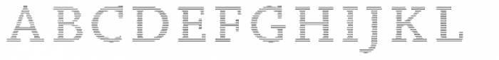 Wade Vernacular Shaded Font UPPERCASE