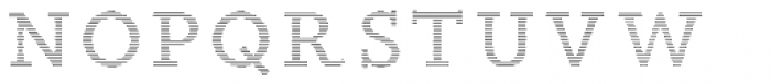 Wade Vernacular Shaded Font LOWERCASE
