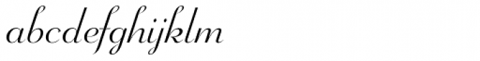 Wagner Script Font LOWERCASE