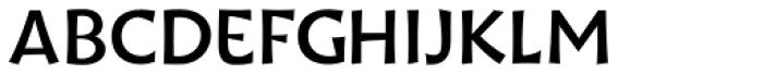Wak Medium Font UPPERCASE