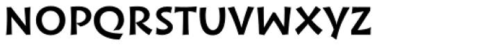Wak Medium Font LOWERCASE