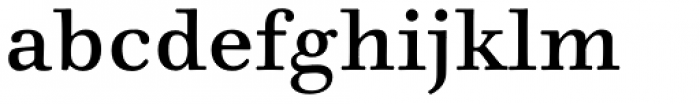 Walbaum 06 pt Regular Font LOWERCASE