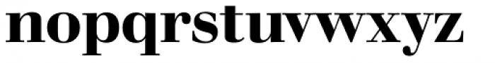 Walbaum 18 pt SemiBold Font LOWERCASE
