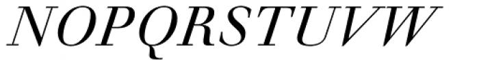 Walbaum Antiqua Pro Book Italic Font UPPERCASE