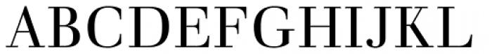 Walbaum Antiqua Pro Book Font UPPERCASE