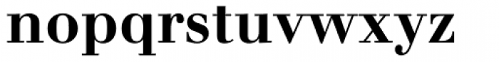 Walbaum Bold Oldstyle Figures Font LOWERCASE