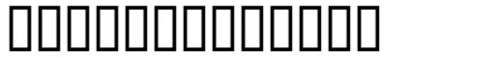 Walbaum Exp MT Medium Font LOWERCASE
