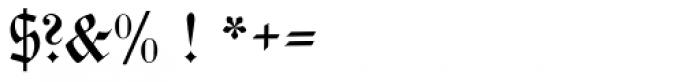 Walbaum Fraktur No2 Pro Font OTHER CHARS