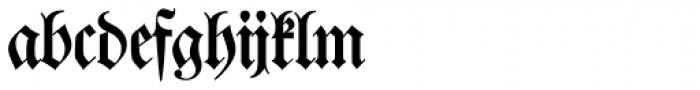 Walbaum Fraktur SH Regular Font LOWERCASE