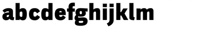 Walbaum Grotesk Black Font LOWERCASE
