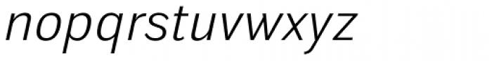 Walbaum Grotesk Book Italic Font LOWERCASE