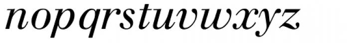 Walbaum Italic Oldstyle Figures Font LOWERCASE