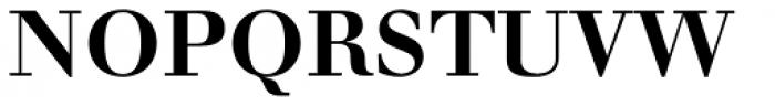 Walbaum LT Std Bold Font UPPERCASE