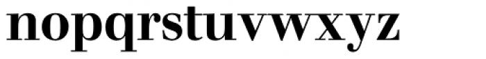 Walbaum SB Medium OsF Font LOWERCASE