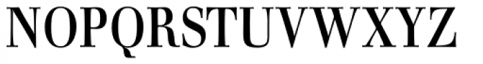 Walburn Font UPPERCASE
