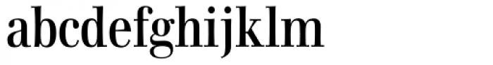 Walburn Font LOWERCASE