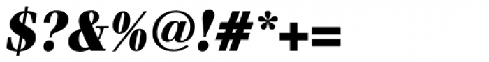 Waldorf Pro Black Italic Font OTHER CHARS