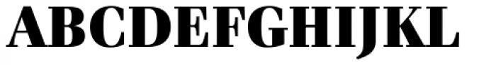 Waldorf Pro Black Font UPPERCASE