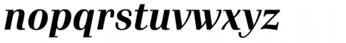 Waldorf Pro Bold Italic Font LOWERCASE