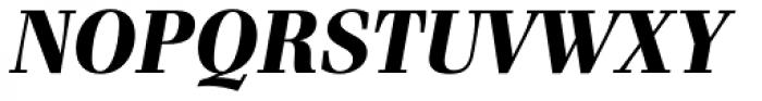 Waldorf Pro Heavy Italic Font UPPERCASE