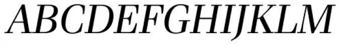 Waldorf Pro Italic Font UPPERCASE