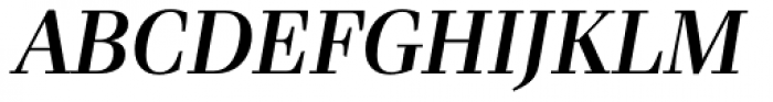 Waldorf Pro Medium Italic Font UPPERCASE