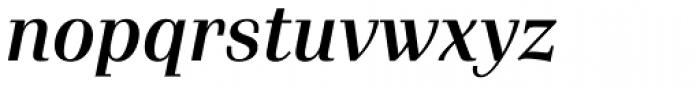 Waldorf Pro Medium Italic Font LOWERCASE
