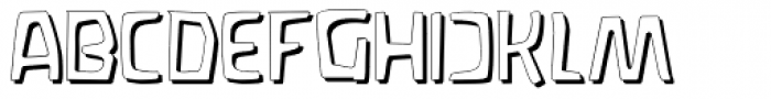 Waldorf Shadow Font UPPERCASE