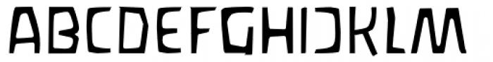 Waldorfschrift Light Font UPPERCASE