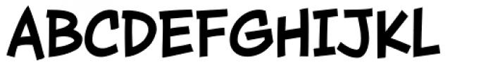 Wall Scrawler Bold Font UPPERCASE